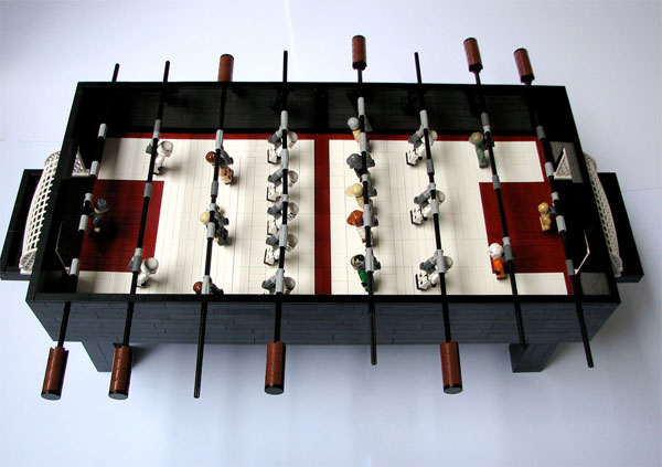 Lego Star Wars Foosball Table