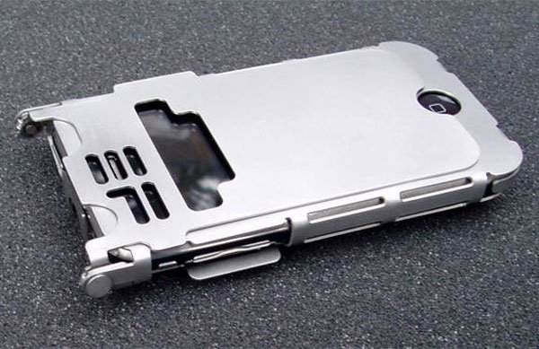 Stainless Steel iPhone 3G And 3GS iPhone Case