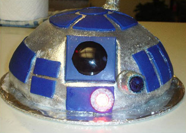 star wars cake designs. Star Wars R2-D2 Birthday Cake