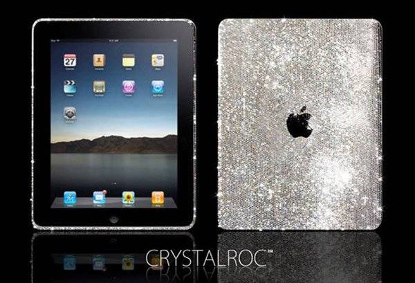 The Swarovski Covered iPad - Yours for $2,250