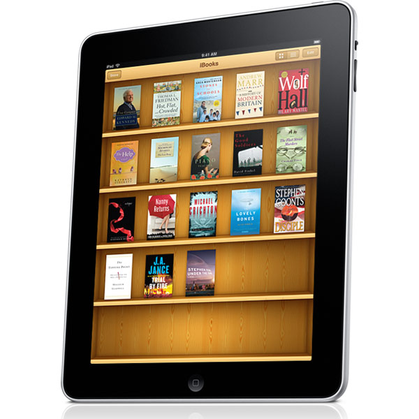 Apple Uploads 30,000 Free eBooks to iBook Store