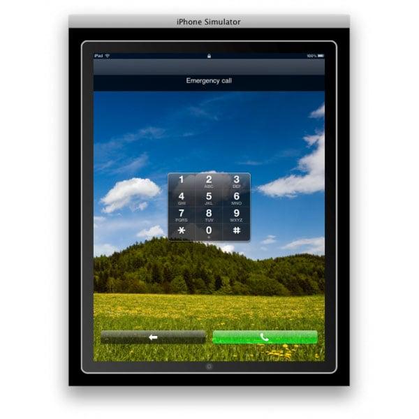 Apple iPad Able To Make Emergency Phone Calls?