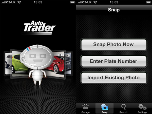 Autotrader iPhone Application