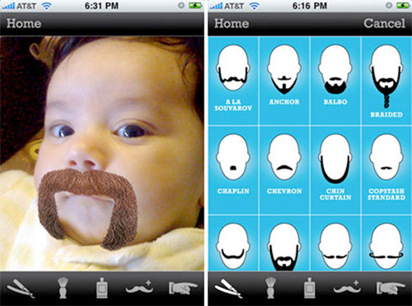 The BeardMe iPhone App