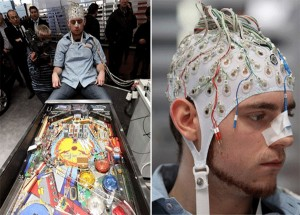 Play Pinball Using Your Brain Power