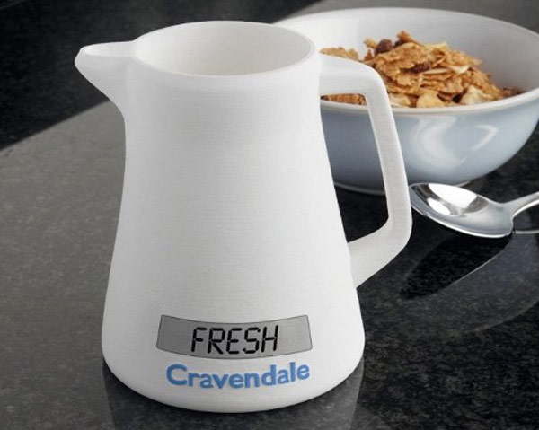 Cravendale Milk Jug Lets You Know When Your Milk Is Off