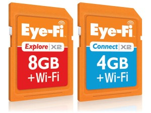Eye-Fi Launches New Wireless SD Cards