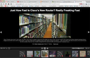 Google Reader Play - Optimized RSS Reader For Apple iPad