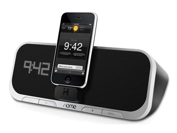 iHome iA5 App Powered iPhone Alarm Clock