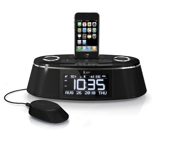 iLuv IMM178 Vibe Plus iPhone And iPod Alarm Clock