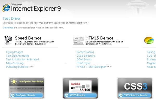 Internet Explorer 9 Won't Support Windows XP