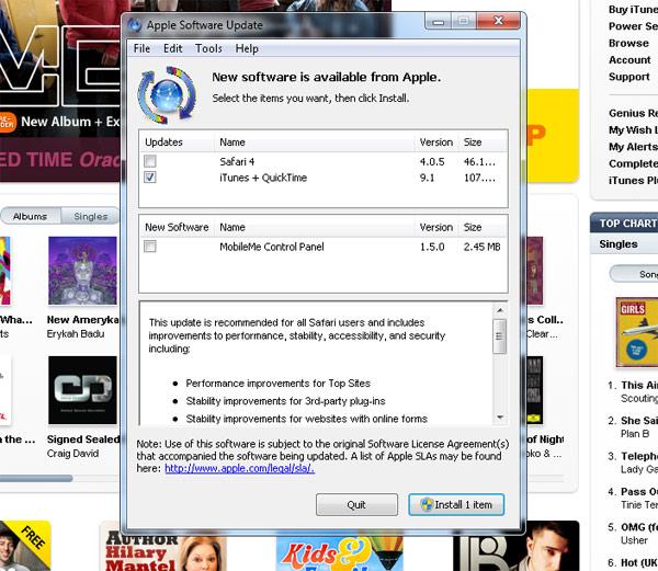 Apple Releases iTunes 9.1