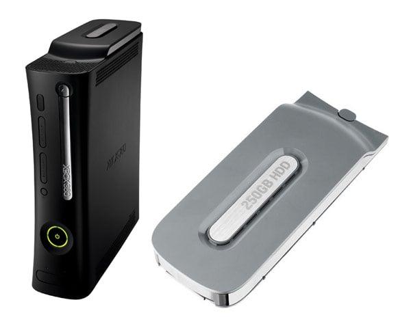 Microsoft Launches 250GB Xbox 360 Hard Drive