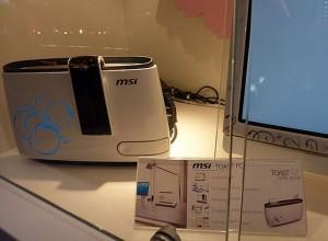 The MSI Toast PC