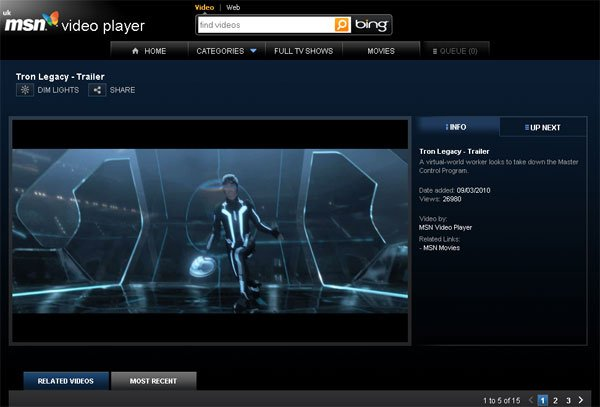 MSN Video Player Aims To Take On The BBC iPlayer