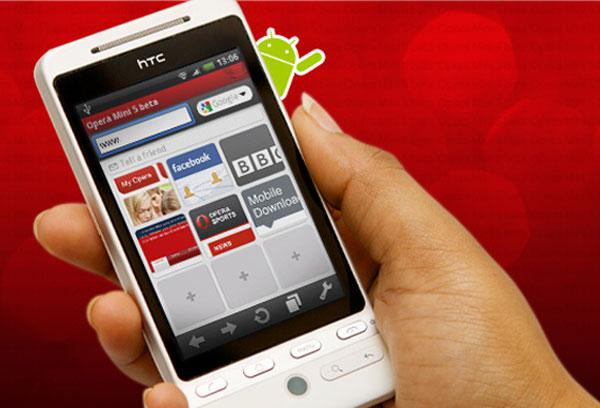 Opera Mini 5 Beta Lands On Google Android