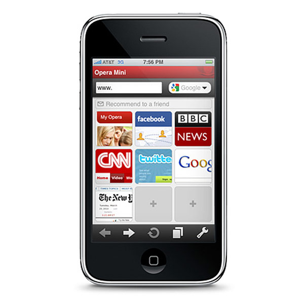 Opera Mini iPhone App Awaits Apple's Approval