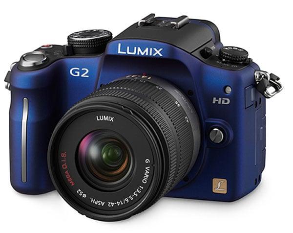 Panasonic Lumix G2 And G10 Micro Four Thirds Cameras Get Official