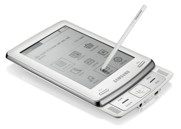 Samsung Launches E6 eReader