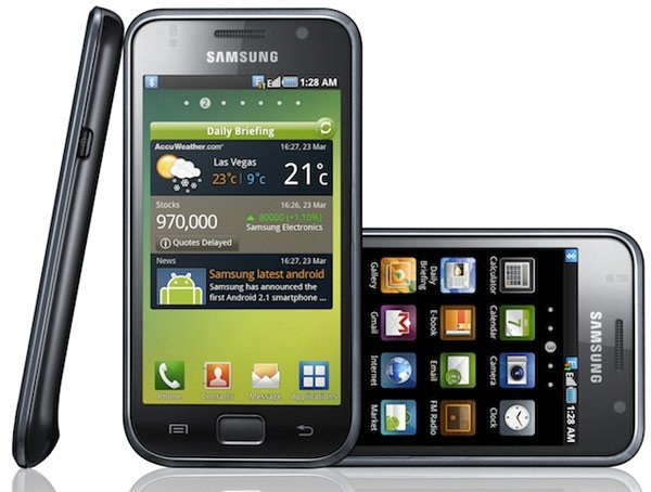 Samsung i9000 Galaxy S Android Smartphone In Action - Video