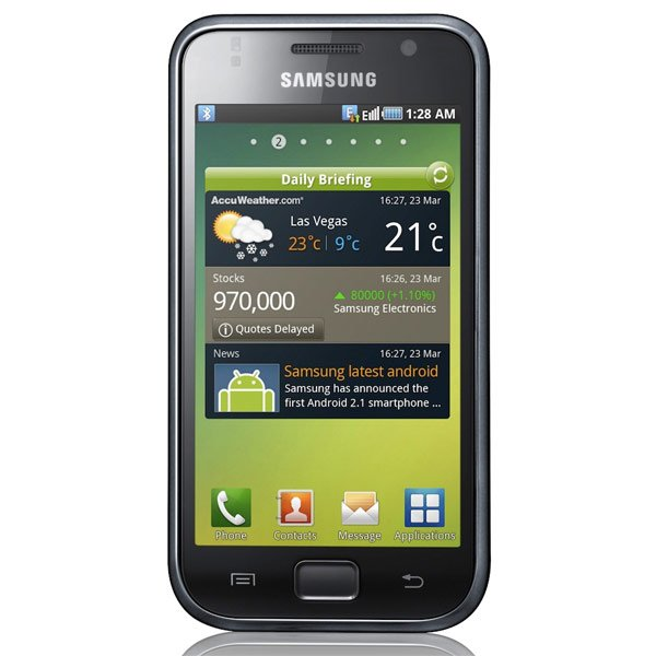 samsung galaxy i9000 android 2 1 smartphone. Black Bedroom Furniture Sets. Home Design Ideas
