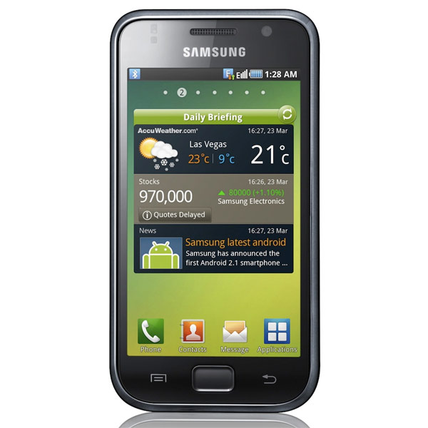 Samsung Galaxy i9000 Android 2.1 Smartphone