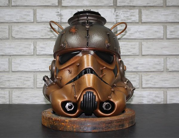 The Steampunk Stormtrooper Helmet