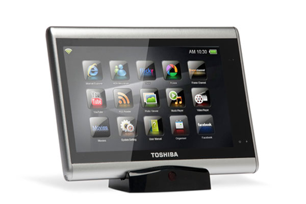 Toshiba Launching Tablets Later This Year
