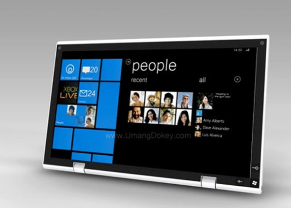 Windows Phone 7 Tablet Concept