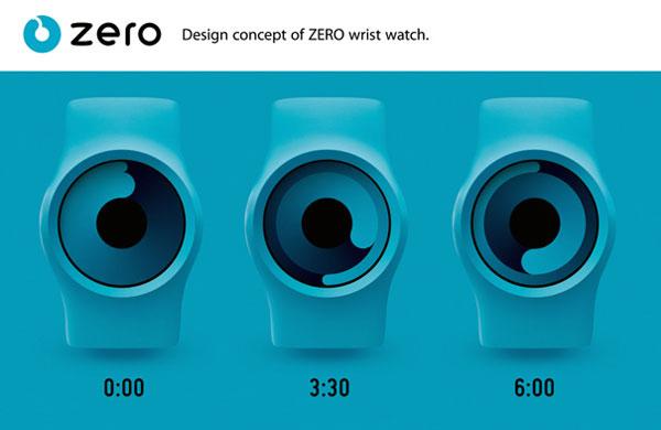 The Zero Wrist Watch By Robert Dabi