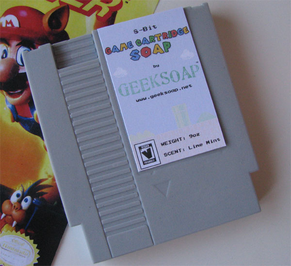 Nintendo Game Cartridge Soap