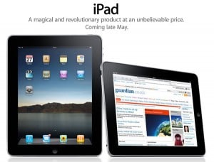 Apple iPad UK Launch Delayed Until May