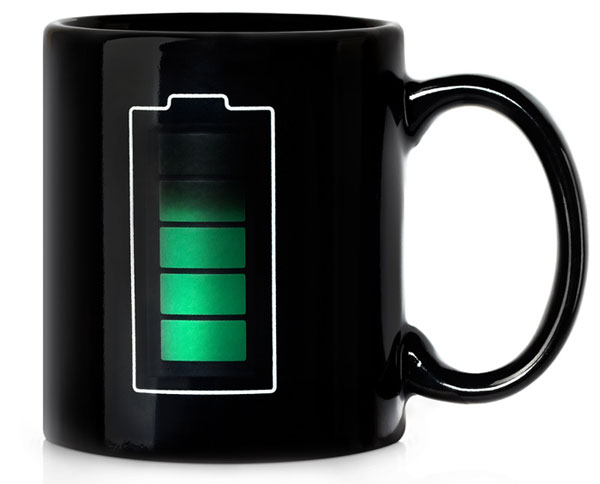 Art Lebedev Battery Mug