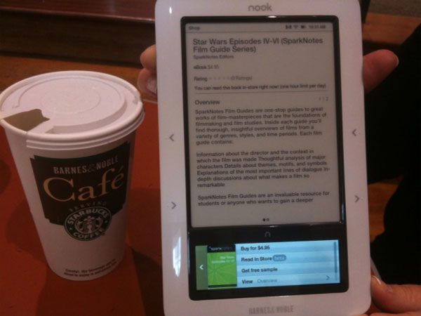 B&N Nook Update Adds Web Browser And More