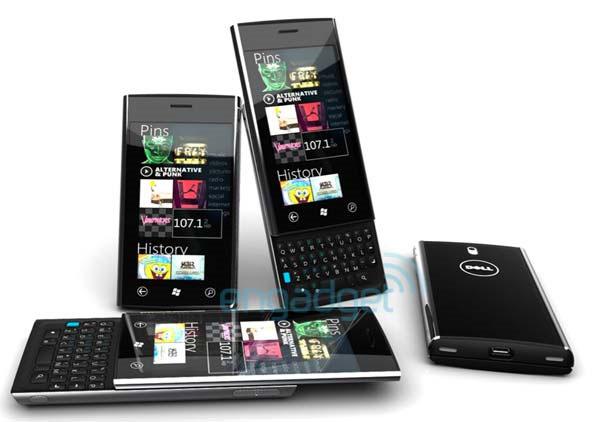 Dell Lightning Windows 7 Phone Smartphone