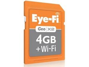 Eye-Fi Geo X2 SD Card Apple Exclusive Memory Card
