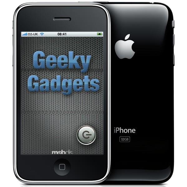 Geeky Gadgets iPhone App Updated