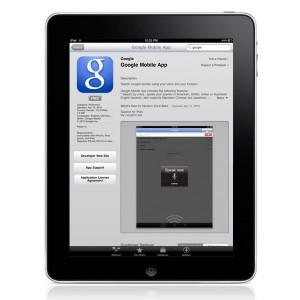 Google Mobile iPad App
