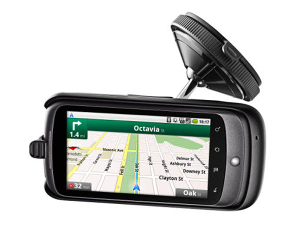 Google Nexus One Car Dock Now Available