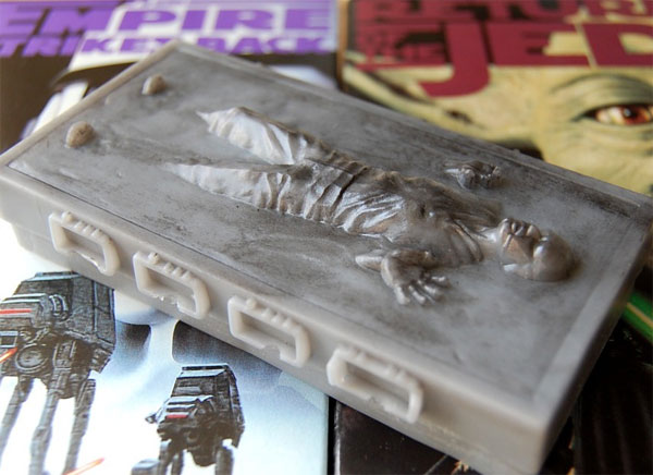 Han Solo In Carbonite Soap