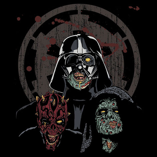 The Imperial Undead Star Wars T-Shirt