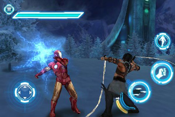 Iron Man 2 iPhone And iPad Game Screenshots