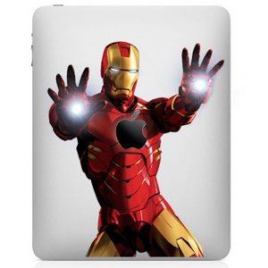 Iron Man iPad Decal