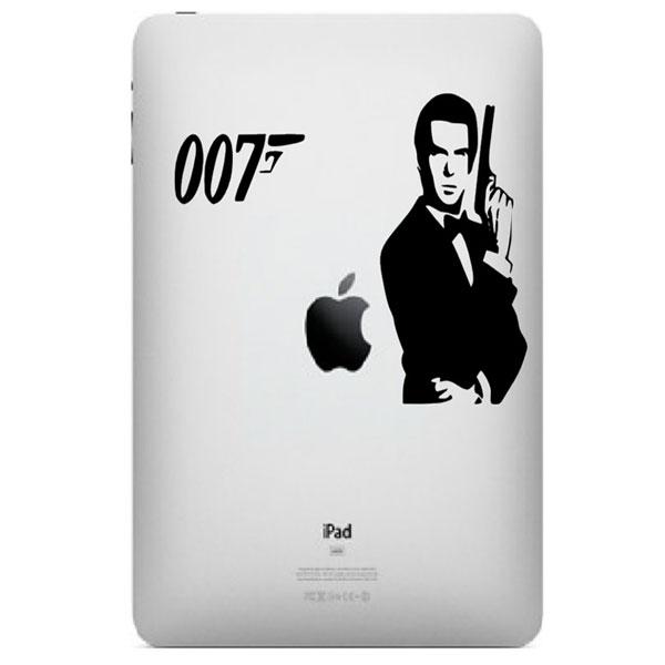 James Bond 007 iPad Decal