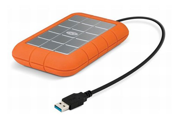 LaCie USB 3.0 Rugged External Hard Drive