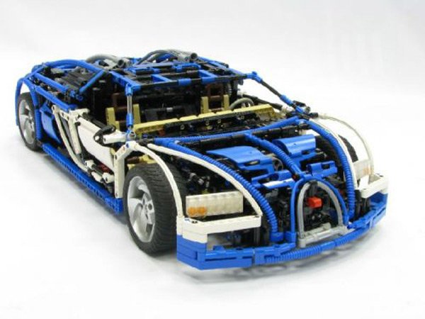 lego technic bugatti veyron. Black Bedroom Furniture Sets. Home Design Ideas