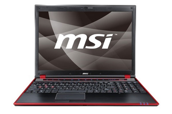 MSI GX640 Gaming Notebook