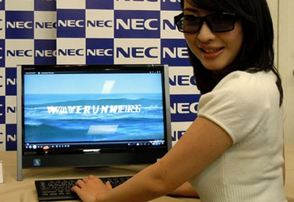 NEC Demos 3D All In One PC