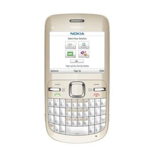 Nokia C3 mobile phone