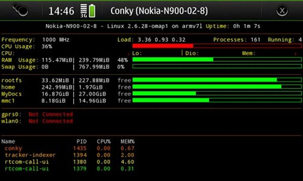 Nokia N900 Overclocked to 1GHz
